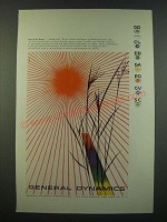 1956 General Dynamics Ad - art by Erik Nitsche