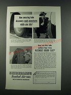 1949 Seiberling Sealed-Air Tubes Ad - Seals Punctures While You Ride