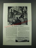 1949 National Life Insurance Company Ad - Mr. Stoddard's Madness