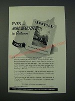 1948 Tennessee National Tourist Office Ad - Even More Beautiful