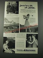 1947 Canadian National Railway Ad - Jeannie has a Date with Jasper