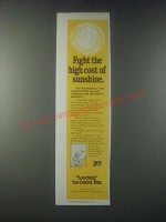 1978 3M Scotchtint Sun Control Film Ad - Fight the High Cost of Sunshine