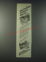 1978 McCloskey Stains & Varnishes Ad - Protects Wood