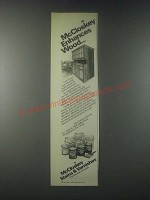 1978 McCloskey Stains & Varnishes Ad - Enhances Wood