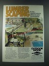 1978 Koppers Wolmanized Pressure-Treated Lumber Ad - Deck Out Landscaping