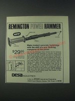1978 Desa Industries Remington Power Hammer Ad