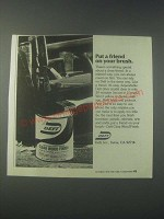 1978 Deft Clear Wood Finish Ad - Put a Friend on Your Brush
