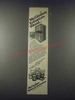 1977 McCloskey Stains & Varnishes Ad - Enhances Wood