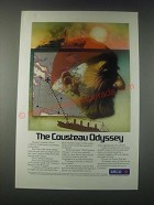1977 ARCO Oil Ad - The Cousteau Odyssey