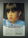 1977 Metropolitan Life Insurance Ad - Some Kids Get More From the Measles