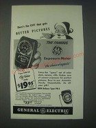 1947 General Electric DW-58 Light Meter Ad - Better Pictures