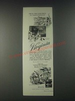 1946 Virginia Tourism Ad - You'll Find Everything