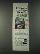 1946 Apeco Photoexact Copier Ad - Get The Help of this New Business Aid