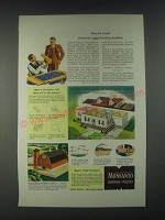 1946 Monsanto Chemicals Santophen 20 Ad - How to Avoid Next Housing Problem