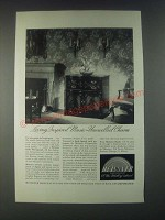 1946 Meissner Chippendale Radio-Phonograph Ad - Living Inspired