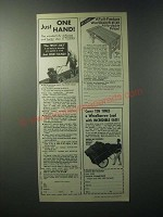 1979 Garden Way Ad - Troy-bilt Tiller, Workbench