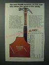1979 Ames Plumb FA 57 Hammer Ad - For the Man Who Wears the Apron