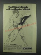 1979 Schrade Old Timer Lockback Knife Ad - The Ultimate Beauty