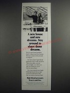 1981 U.S. Department of Health and Human Services Ad - A New House