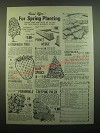 1980 House of Wesley Nursery Ad - For Spring Planting!