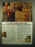 1980 Formby's Tung Oil and Furniture Refinisher Ad - A Labor of Love