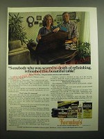 1980 Formby's Tung Oil and Furniture Refinisher Ad - Scared to Death