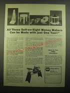 1980 Shopsmith Mark V Woodworking System Ad - Sell-on-Sight Money Makers
