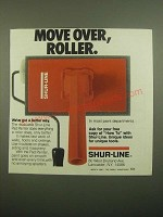 1980 Shur-Line Pad Painter Ad - Move Over, Roller