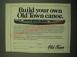 1980 Old Town Canoe Ad