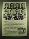 1983 Dorsey Triaminic-12 Tablets Ad - Are Your Cold Tablets Doing This to You?