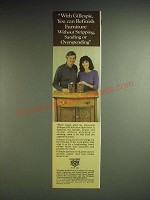 1985 Gillespie Old Furniture Refinisher and Tung Oil Finish Ad