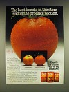 1985 Hunt's Whole Tomatoes, Tomato Sauce and Tomato paste Ad - The best tomato