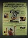 1985 Stanley Hardware Ad - What you don't know about your doors, Stanley can