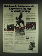 1985 Shopsmith Mark V Ad - Get down to fundamentals… experience the joys of