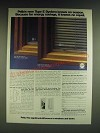1985 Pella Type E System Windows Ad - Pella's new Type E System knows no