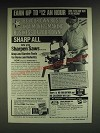 1985 Foley-Belsaw Sharp-All Ad - Earn up to $12 an hour