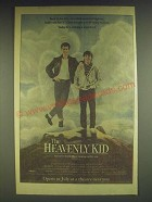 1985 The Heavenly Kid Movie Ad - Back in the 60's, on a dark deserted highway,