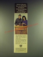 1984 Gillespie Old Furniture Refinisher and Tung Oil Finish Ad