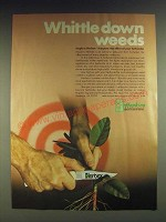 1984 Hopkins Herbex Ad - Whittle down weeds