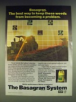 1984 BASF Basagran Ad - The best way to keep these weeds from Becoming a Problem