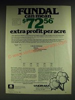 1984 Nor-Am Fundal Ad - Fundal can mean $72.56 extra profit per acre