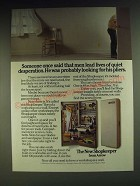1984 Arrow Shopkeeper Ad - Someone said that men lead lives of quiet Desperation