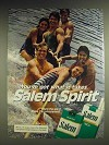 1984 Salem Cigarettes Ad - You've got what it takes. Salem Spirit