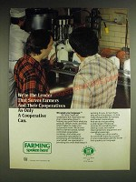 1984 Farm Credit Service Ad - We're the lender that serves Farmers