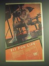 1984 DP Orbatron Barbells and Weight Benches Ad - Fit for Life