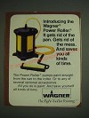 1984 Wagner Power Roller Ad - Gets Rid of the Pan