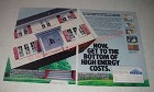 1984 Dow Styrofoam Insulation Ad - Now, get to the bottom of high energy costs