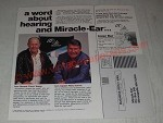 1984 Miracle-Ear Hearing Aids Ad - Chuck Yeager and Wally Schirra