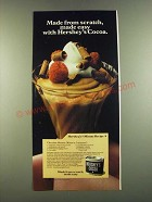 1983 Hershey's Cocoa Ad - Chocolate Mousse Recipe