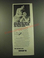 1983 Sears Disposable Briefs for Incontinent Care Ad